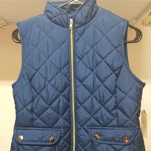 St. John's Bay Women's Quilted Vest Petite XS